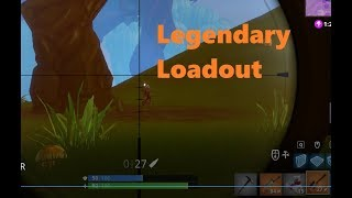 Fortnite Legendary Sniper and SCAR!!!