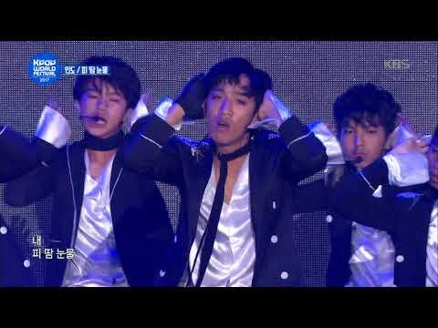 K-pop World Festival IN ChangWon - 인도 팀 - 피 땀 눈물 (Blood Sweat & Tears - Team INDIA). 20171014