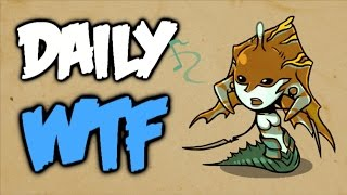 Dota 2 Daily WTF - Under the sea / New map