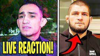 Tony Ferguson LIVE REACTION to UFC CANCELLING UFC 249, Dana White, Justin Gaethje, Khabib