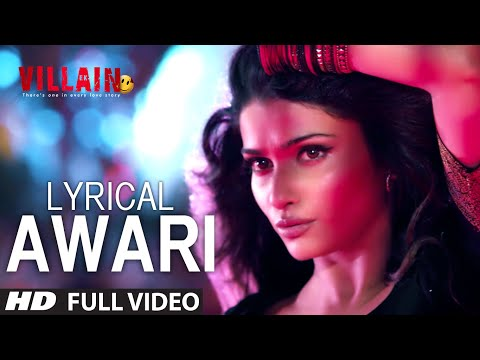 Thumbnail: LYRICAL: Awari Song | Ek Villain | Sidharth Malhotra | Shraddha Kapoor