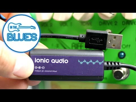 Ionic Audio 9v 2000mA USB Power Bank Pedal Power Supply