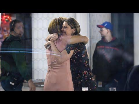 Savannah Guthrie and Hoda Kotb Hug Following Matt Lauer's Firing From 'Today'