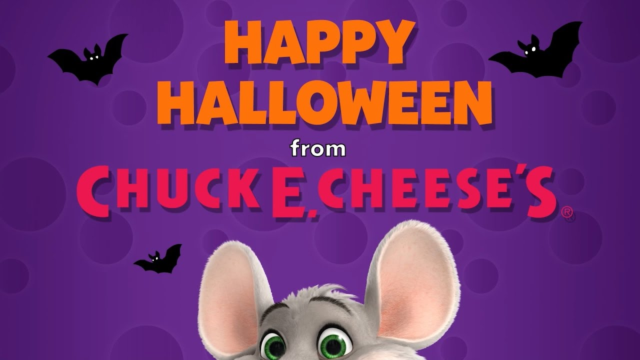 Happy Halloween From Chuck E. Cheese's!