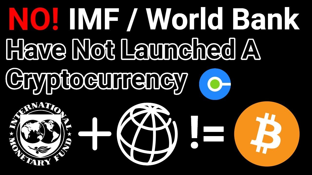 does the imf like cryptocurrency