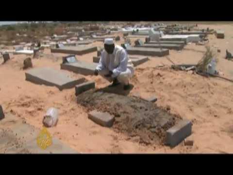 Convicted Lockerbie bomber buried