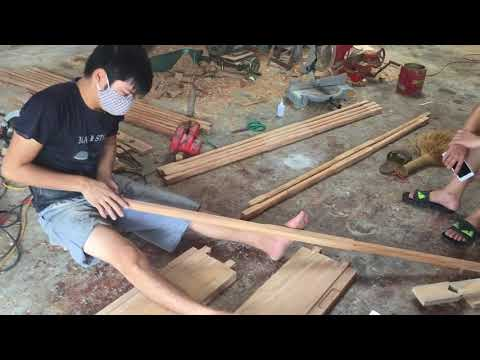 How to Make Wooden Window Frame - Amazing Woodworking DIY Projects - Easy Making Wood Door