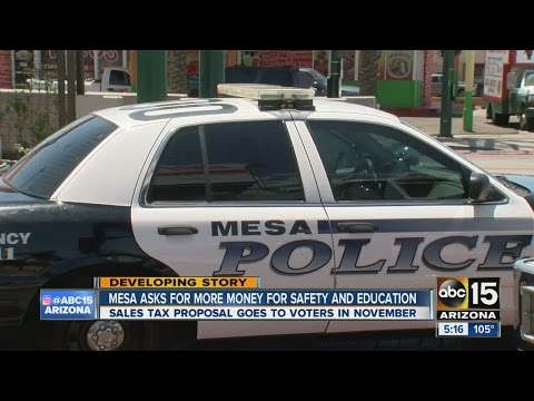 City of Mesa asking for more money to go toward safety and education