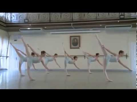 Vaganova Academy, ballet class exam, 7th grade, 1part