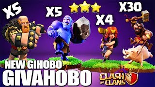 How to GIHoBo - GoHoBo - GiVaHoBo TH10 Attack Strategy | Th10 GoHoBo | Th10 Best war Clash of Clans