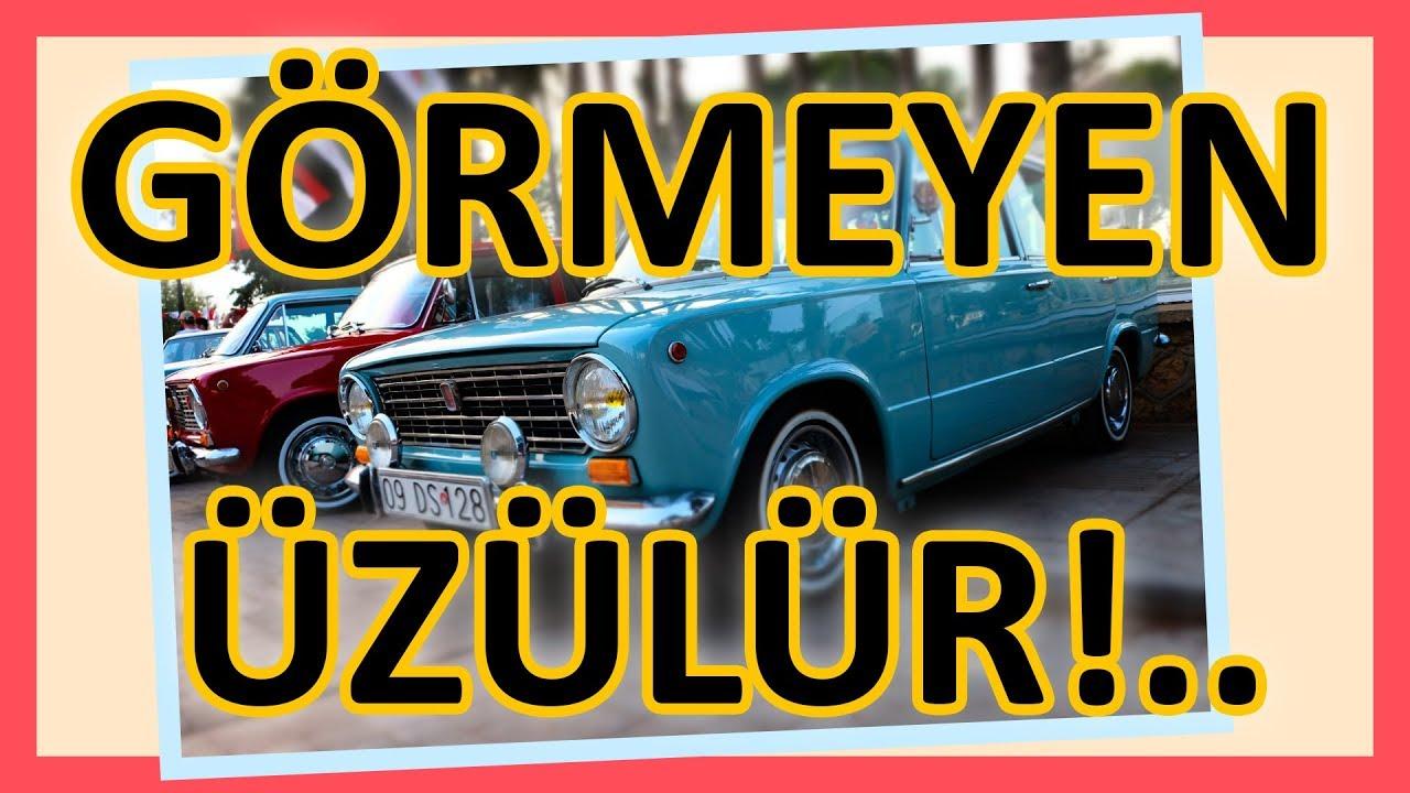 Bu Araçları Görmeyen ÜZÜLÜR! Rengarenk Klasik Otomobil ve Motosikletler / Best Funny Classic Cars