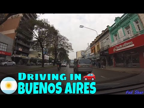 Driving in Buenos Aires (from La Lucila to Munro)
