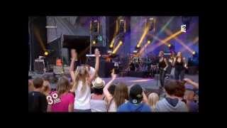 M Pokora 'on est la' - a nos actes manqués fête de la musique 2012
