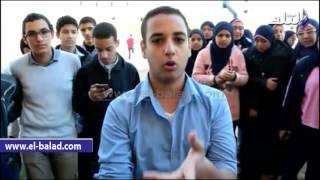بالفيديو والصور..إضراب طلاب مدرسة المتفوفين في كفر الشيخ لتدني مستوى الخدمات