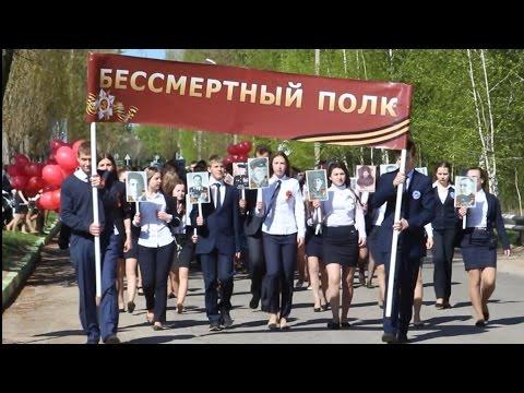 Парад Победы в селе Красное Липецкой области 9 мая 2015 года
