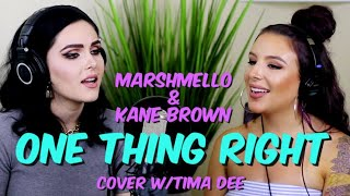 """Gambar cover Marshmello, Kane Brown - One Thing Right (""""Sup I'm Bianca"""" & """"Tima Dee"""" cover)"""