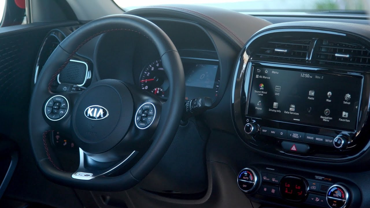 2020 Kia Soul Gt Line Interior Youtube