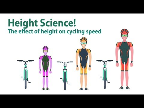 How Height Affects Your Cycling // Aka Why People Height Dope In Zwift!