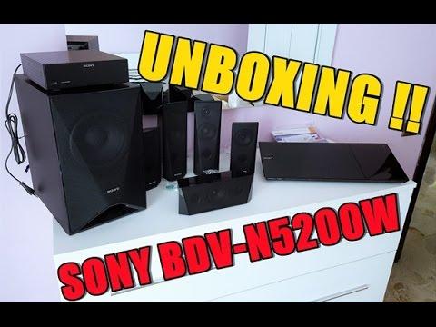 UNBOXING: SONY BDV-N5200W Home Theatre System 1000 Watt
