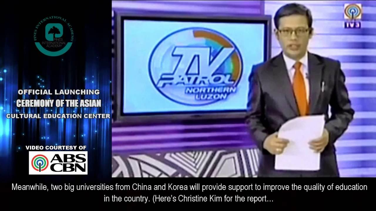 abs cbn acec on news tv university of cordilleras 菲律賓碧瑤