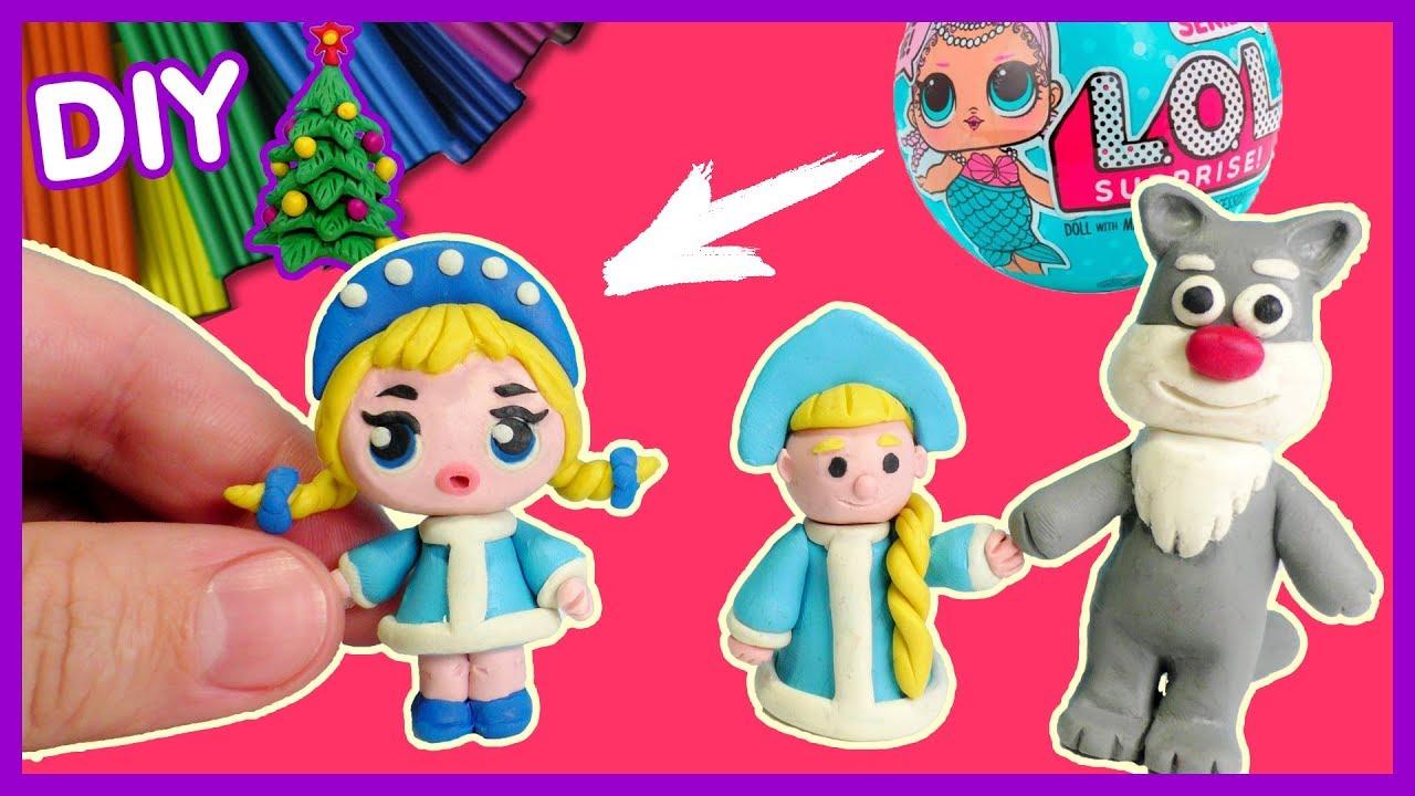 Куклы как сделать пластилин 975