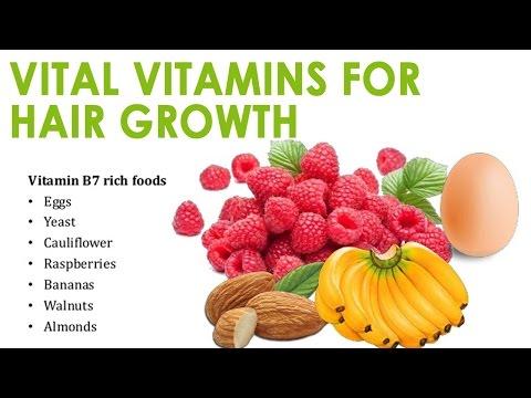 Vital Vitamins for Hair Growth