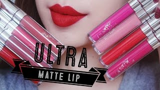 [SWATCH + REVIEW] COLOURPOP ULTRA MATTE LIP (WITH CC ENGSUB)