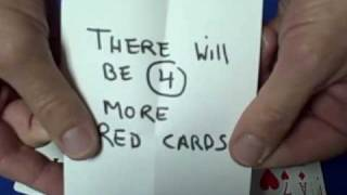 Do That Again - Prediction Card Trick Revealed