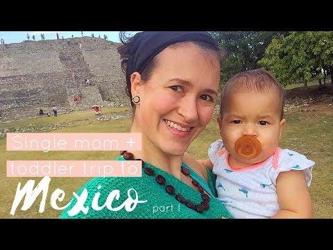 SINGLE MOM + TODDLER TRIP TO MEXICO PART I - Bohemian Dreams by Luna Circle