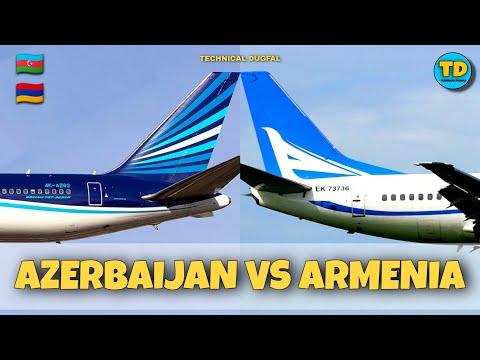 Azerbaijan Airlines Vs Armenia AirCompany Comparison 2020!