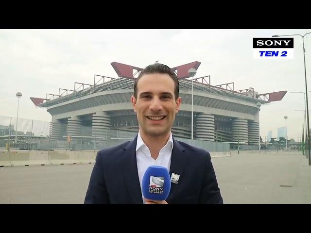 Adriano on Sony Sports India (Inter-Monchengladbach)