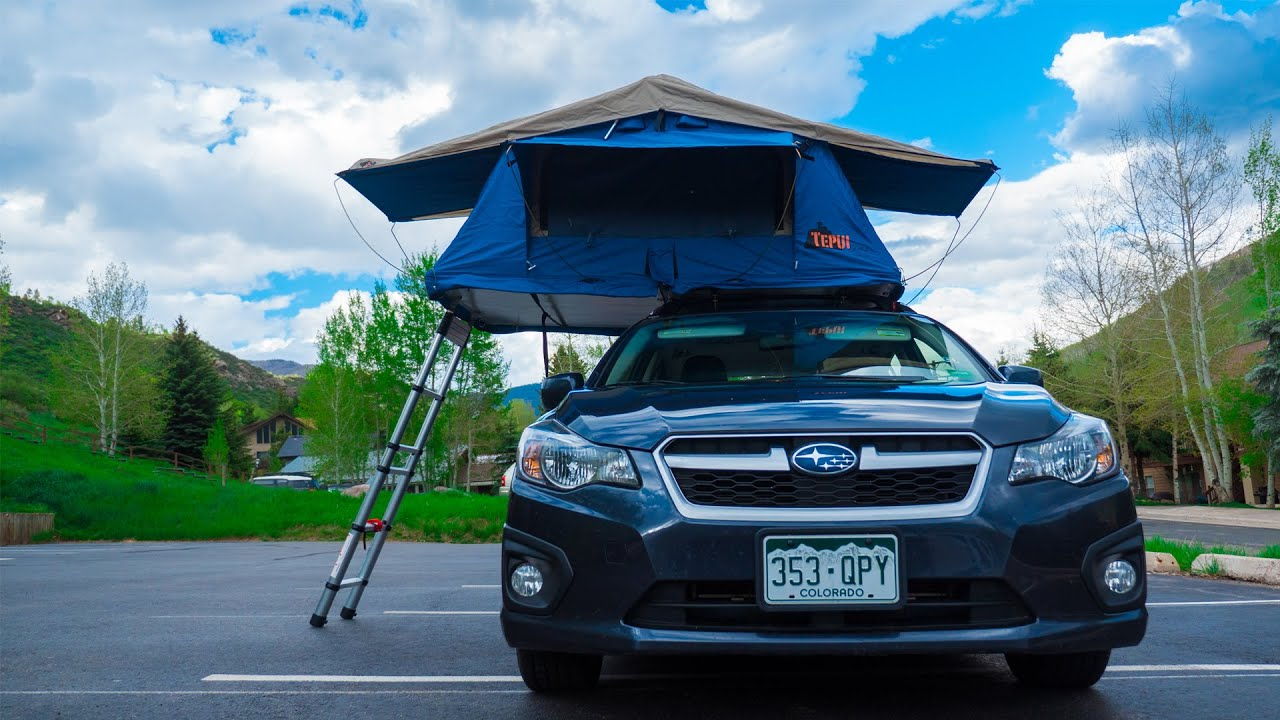 Tepui Ayer On Subaru Impreza In 4k Youtube