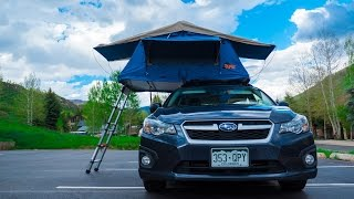 Tepui Ayer on Subaru Impreza! in 4k!