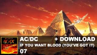 AC/DC - 07. If You Want Blood (You