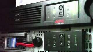 Server Diary Entry - New APC-Smart UPS 3000VA