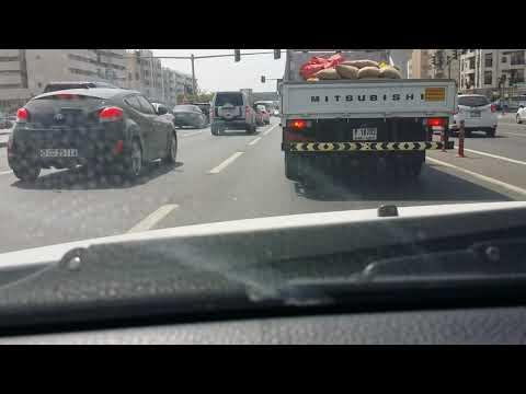 Driving from Ajman to Dubai