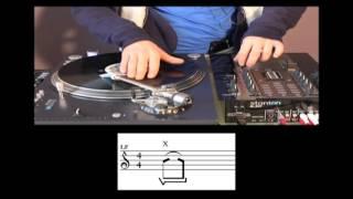 Turntablism Tutorial -Skratch Techniques 2-  3/3