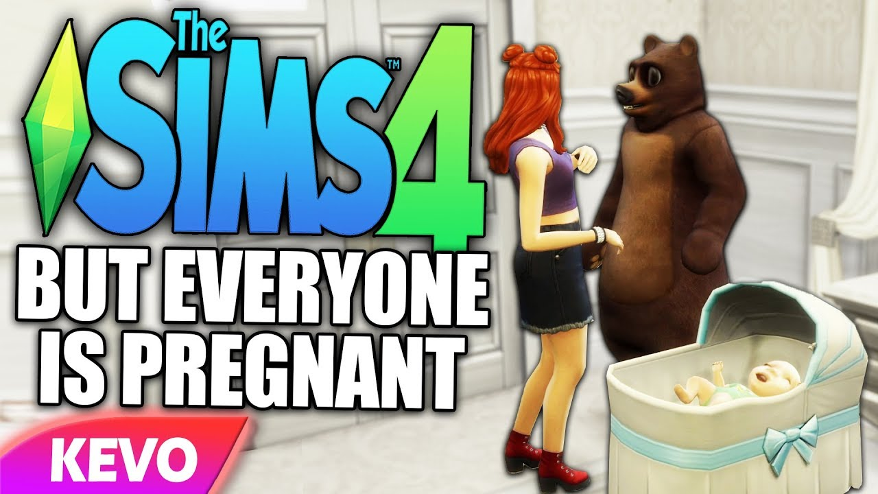 The Sims 4 but everyone is pregnant thumbnail