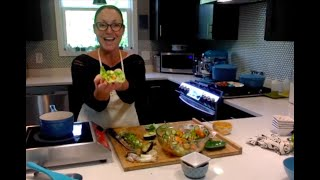 Assembling the Lettuce Wraps plus Garnishing & Eating Like a BOSS