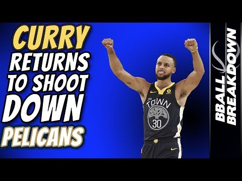 STEPH CURRY Returns To Shoot Down PELICANS