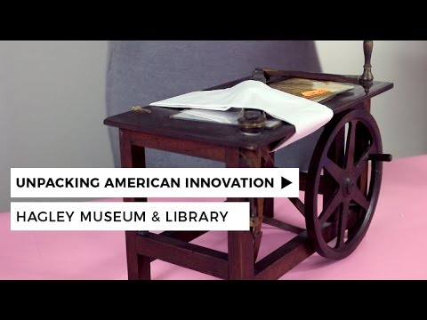 Unpacking American Innovation: Hagley Patent Model Collection