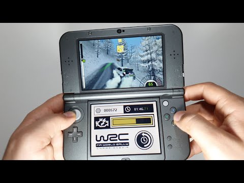 WRC Official Game Of The FIA World Rally Championship Nintendo 3DS