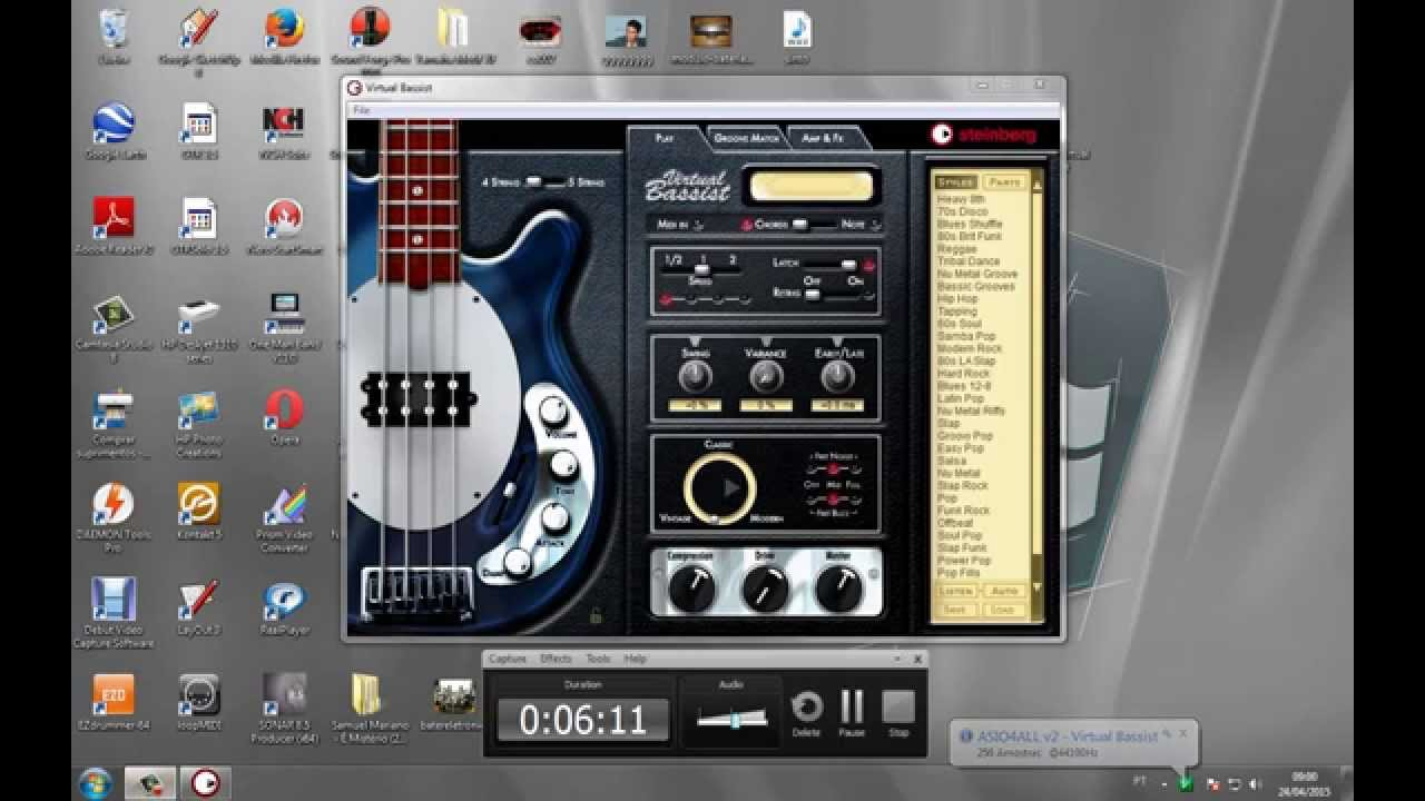 Ujam virtual guitarist sparkle test videotutorial youtube.