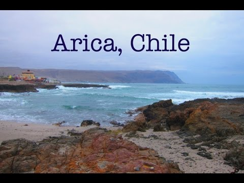 Arica - town with perfect weather in the north of Chile