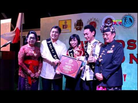Awards Ceremony Royal World Prize 2016 in Bali