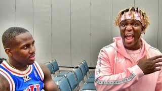 KSI is joined by champ Tevin Farmer to talk Logan Paul fight...Is he offended by them headlining?