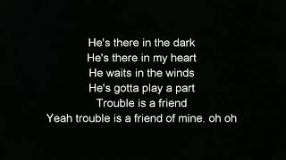 TROUBLE IS A FRIEND-LENKA (VERSI KARAOKE)