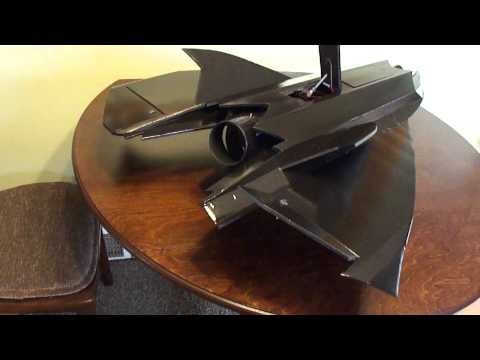 RC Jet (Stealth Drone) U.C.A.V  Unmanned Combat Ariel Vehicle.