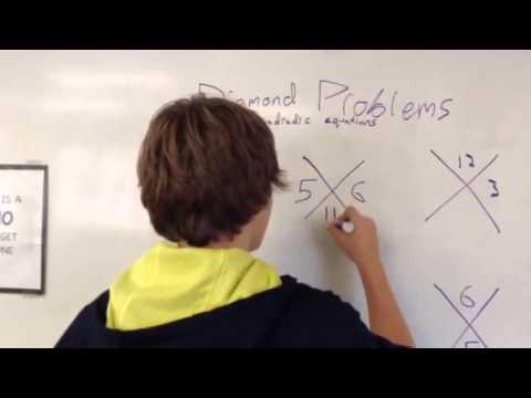 Math Untangled: Diamond problems- MS
