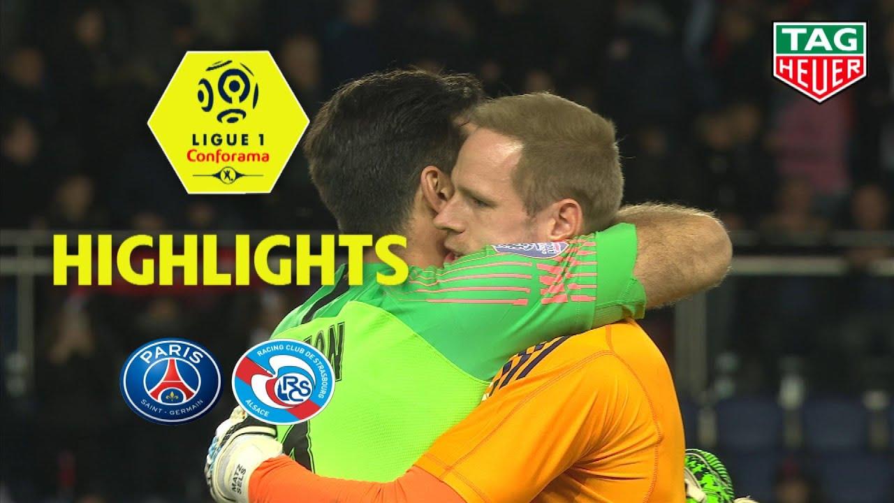 20bcf3094b Paris Saint-Germain - RC Strasbourg Alsace ( 2-2 ) - Highlights - (PARIS -  RCSA) / 2018-19. Ligue 1 Conforama Official